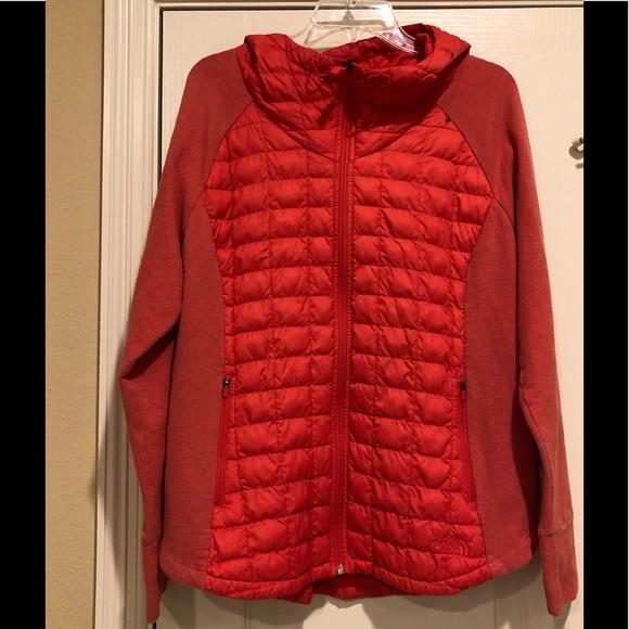 The North Face Womens Jacket Dunagiri Insulated Full Zip Hooded Coat S M New Nwt